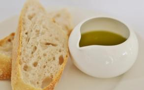 Olive Oil and Baguette